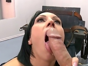 Dylan Ryder is on death row and her last dream is to suck officer Johnny Sins...