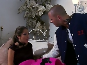 Amazing and hot scene with crazy pornstars named Jenna Haze and Scott Nails