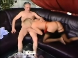 Young Blonde Loves Older Cock