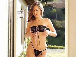 Riley Reid strips and excites us with her perfect young body this beautiful...