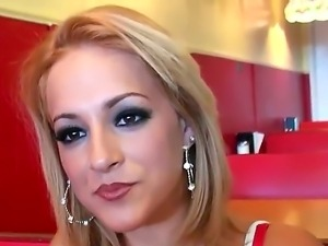 Lucky guy Cris Commando is fucking a gorgeous babe with awesome boobs Linda Sky