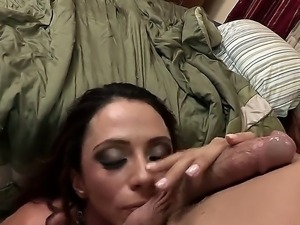 Bewitching and busty Ariella Ferrera meets her sons best friend Johnny Sins...