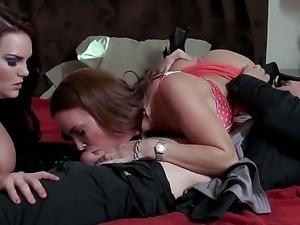Diamond Foxxx,Johnny Sins and Mackenzee Pierce in amazing threesome porn