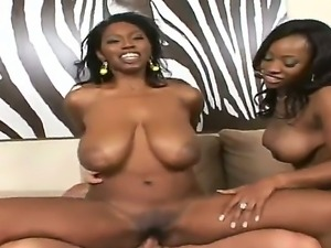 White dude Billy Glide is spending time with two luxurious busty and big ass...