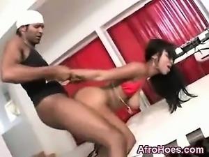Mega Black Booty Tempting Ebony Fucked