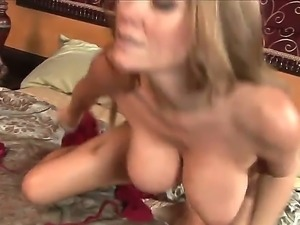 Danny Wylde came to visit his girlfriend, but meets her super horny mom with...
