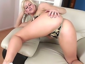 Superb hottie Eve Lawrence gets hard fucked by horny male Kevin Moore
