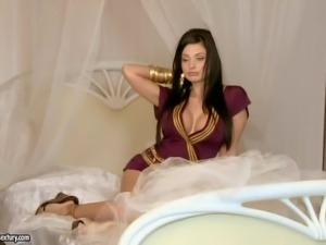 Aletta Ocean is a black haired European pornstar with absolutely