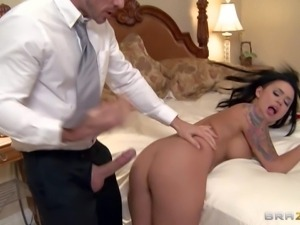 Eva Angelina is a sexy bodied nurse with juicy tits that gets her nice pussy...