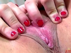Dont be against of seeing masturbation from cute girl Alexa Amore. The...