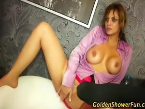 Golden shower fetish pissing lesbian nasty orgy glam babes