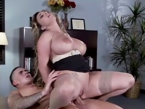Busty milf Holly Halston anal fucking ass to mouth
