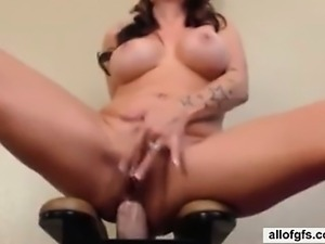 wicked pretty girlfriend riding a pin
