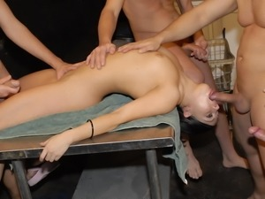 Gia Givanna being gang banged by some hard cocks