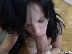 Amabella is a raven haired cutey that loves to suck
