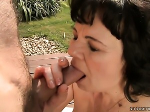 Redhead Helena May gets ploughed good and hard by hot man