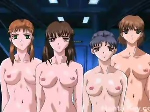 A group of gorgeous horny young ladied giving a nice blowjob and a smooth...