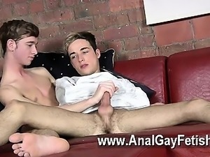 Gay sex Sexy youngster man Oli Jay is restrained in the company of