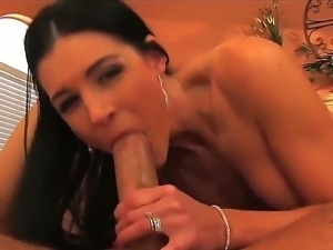 Horny milf summer blows a ole like a pro and moans as she gets her twat...