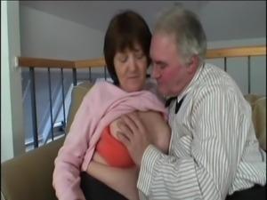 grandpa and grandma are horny again