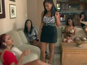 Layton Benton, Yasmine De Leon, Lya Lushes and Amber Z are all black lesbian...