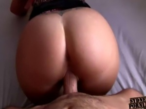 INCREDIBLY HOT REAL GIRLFRIEND WITH GREAT ASS FUCKING !!!