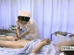 Properties leaves, asian nurse gives medical handjob