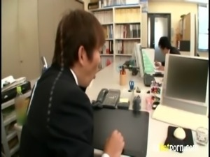 AzHotPorn.com - Office Mature Wife is a Side Business free