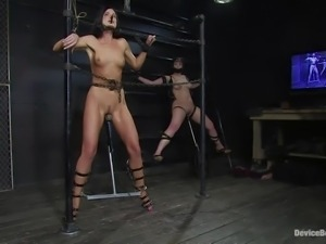 chained whores in a dark vault