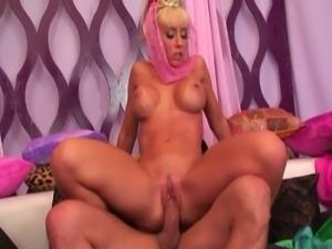 Jessica lynn is a busty blonde fucker