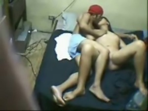 Indian College Girl fucking with her BF in his room