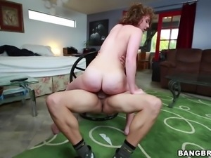 big booty impaled by a big cock