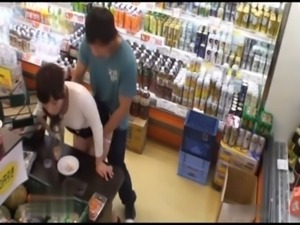 Girl Gets Suddenly Attacked and Fucked In The Supermarket In Front Of...