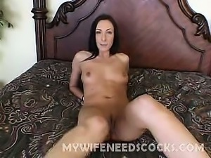 Exotic wife Katrina Isis is so hot and eager, I just can't