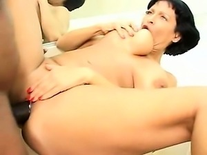 Showering Milf Fucks Friend Of The Family Part 3