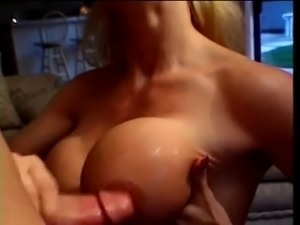 Classic Blonde Cougar Bangs Hitchhiker