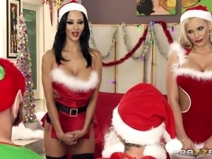 santa's special gift for naughty girls