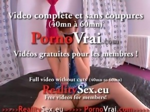 Defonce anale mature enculee a sec !! French amateur