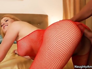 Krissy Lynn having sensual sex with hot dude Rocco Reed