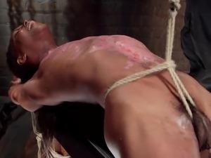 bonded milf in the chamber of forbidden pleasures