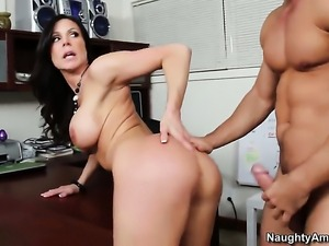 Kendra Lust and Johnny Castle have a lot of fun in this steamy sex action