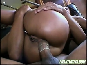 Latin Teen Kelly Santos Gets Fucked Like A Bitch