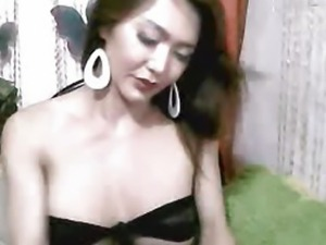 Busty Tranny With Big Cock