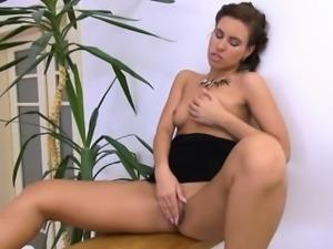Jelena Jensen in her glamour sapphic