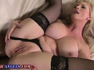 Ass fucked mature slut sucks
