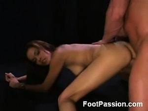 Daisy Marie is one sexy Latina lady with great limber legs