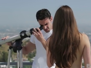 Teal Conrad has deep inner thoughts about Ryan Driller. This couple's video...