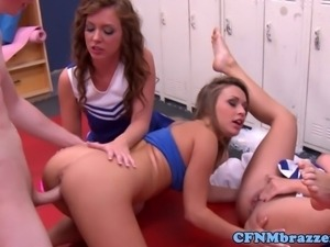 Cfnm fun with Maddy Oreilly and pal Jada Stevens have some cfnm fun with some...