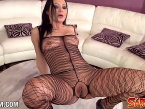 Saboom presents hot Pornstar Sandra Romain in a Hardcore fuck. This bitch...