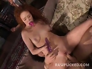 Horny Audrey Hollander has nice plump tits and ass and a